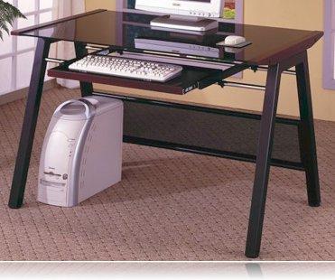 Pondosa Computer Desk in Dark Walnut
