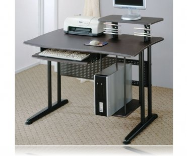 Powell Butte Computer Desk in Metal Black