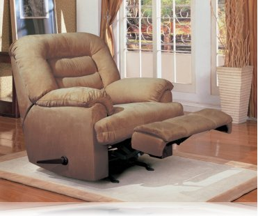 Wrangler Recliner Rocker in Beige