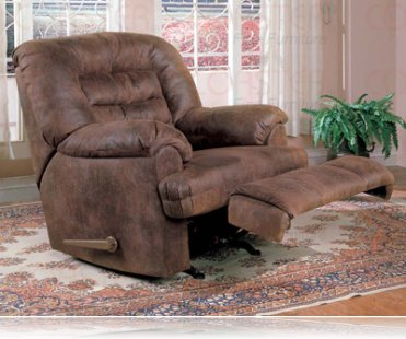 Wrangler Recliner Rocker in Brown