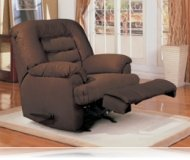 Wrangler Recliner Rocker in Cocoa