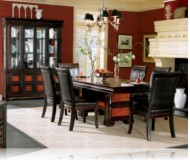 Rosalinda 7 Pc. Dining Set + China