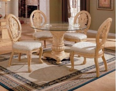 Rother 5 Pc. Antique White Dining Set