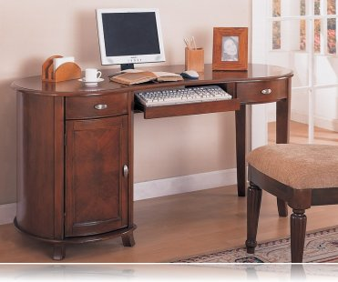 Rounded Computer Desk