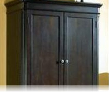Sahara Bedroom TV Armoire, Armoires Coaster 200386