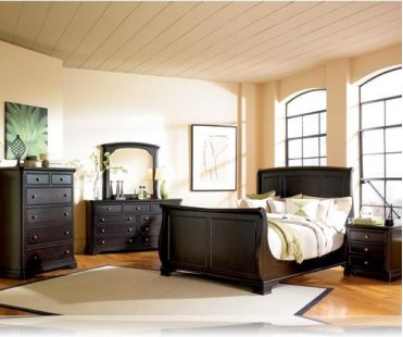 Sahara Sleighbed KE 5 Pc. King Bedroom Set