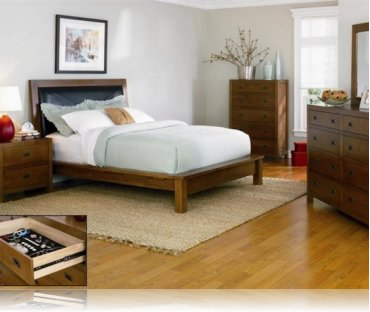 Samantha Cal. King 5 Pc. Bedroom Set