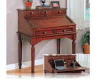 Secretary Desk Antique Brass Hardware