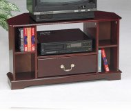 TV  black glass tv stand