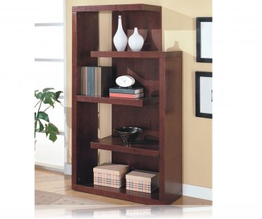 Unique Shaped Storage & Display Bookcase