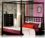 Ventura Queen Canopy Bedroom Bed