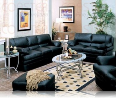 Verona Leather Sofa + Love Seat