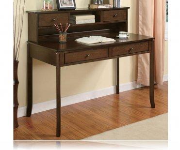 Walnut Wood Storage Office Desk