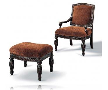 Walton Chair with Ottoman