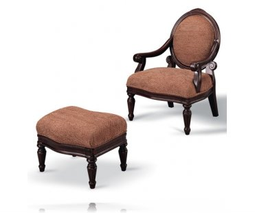 Wamic Chair with Ottoman