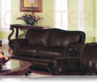 Wilson Leather Love Seat