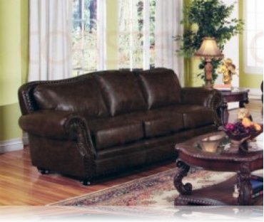 Wilson Leather Sofa