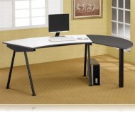Wrap Around Computer Desk Workstation