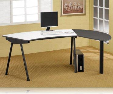 Wrap Around Computer Desk Workstation L Desks Coaster 800447
