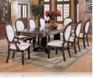 Wynn 9 Pc. Cherry Dining Set