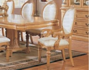 Wynn Antique White Dining Arm Chair