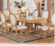 Wynn Antique White Dining Table