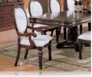 Wynn Cherry Dining Arm Chair