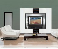 Abel  contemporary wall unit