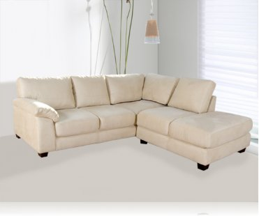 Bryce 2pc. Microfiber Sectional
