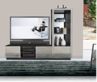 Lugano  wall unit media center