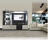 Lugano  entertainment wall unit