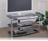 Tempered  flat screen tv stand