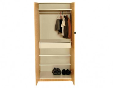 Basics 556 Bedroom Wardrobe