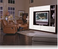 Bruno  wood tv stands