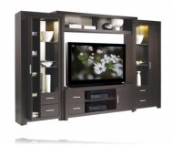 Chrystie  glass wall unit