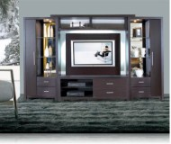Crystal  contemporary bookcase