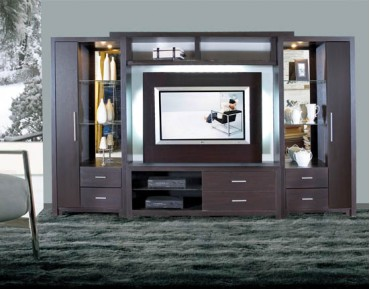 Crystal Flat Panel TV Furniture