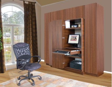 Hawthorne Home Office & Wardrobe