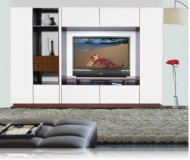 Ian  custom entertainment center