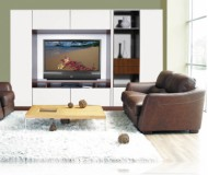 Jordan  white tv stands