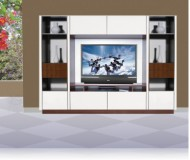 Joseph  entertainment wall unit