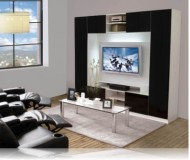 Keegan  flat panel tv stand