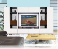 Lucus  white tv stands