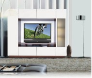 Michael  custom entertainment wall