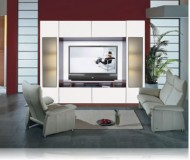 Sawyer  big screen wall unit