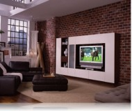 Sebastian  big screen wall unit