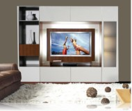 Tristan  flat panel tv installation