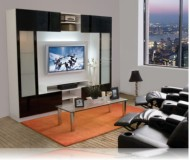 Tyler  tv console furniture