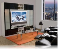 Tyler  wood plasma tv stands