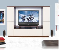 Upton  contemporary wall unit